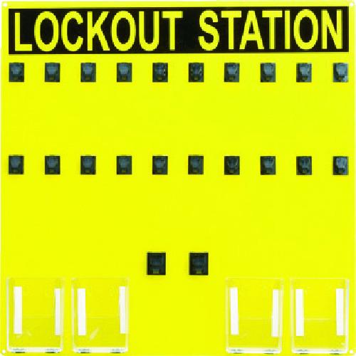 ■パンドウイット ロックアウトステーション 20人用 PSL-20SA [TR-4746996]
