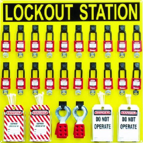 ■パンドウイット ロックアウトステーションキット 20人用 PSL-20SWCA [TR-4747003]