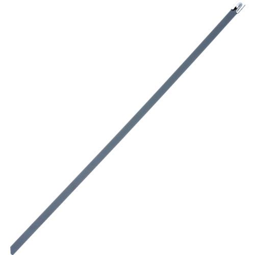 ■パンドウイット MLTタイプ フルコーティングステンレススチールバンド SUS316 黒 幅4.6mm 長さ201mm 100本入り MLTFC2S-CP316 [TR-4774817]