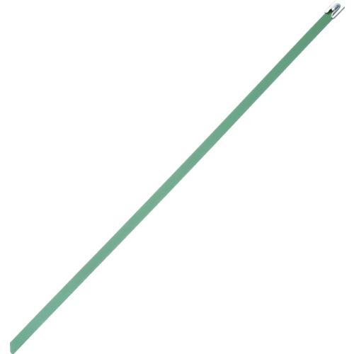 ■パンドウイット MLT フルコーティングステンレススチールバンド SUS316 緑 幅8.1mm 長さ363mm 50本入り MLTFC4H-LP316GR [TR-4774841]