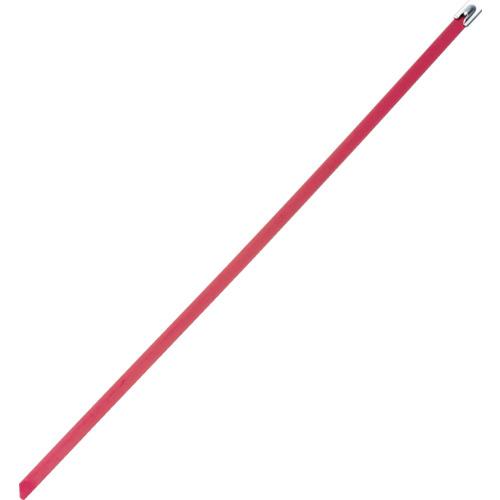 ■パンドウイット MLT フルコーティングステンレススチールバンド SUS316 赤 幅8.1mm 長さ363mm 50本入り MLTFC4H-LP316RD [TR-4774850]
