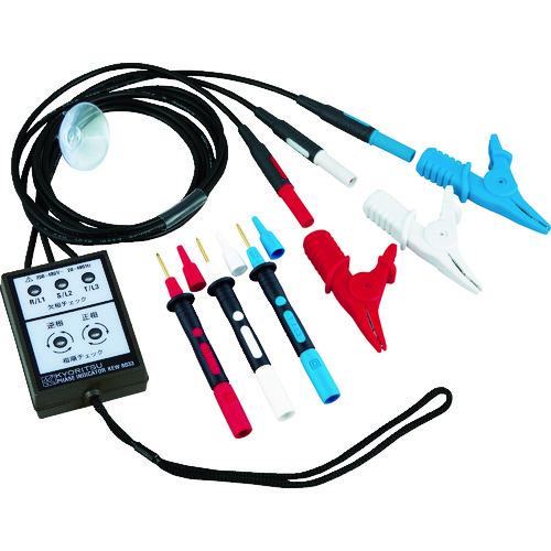■KYORITSU 8033 デジタル検相器 KEW8033 共立電気計器[TR-4796624]