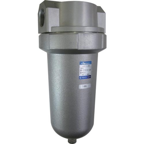 ■日本精器 エアフィルタ25A中圧用 BN-2701H1-25 日本精器(株)[TR-4840828]