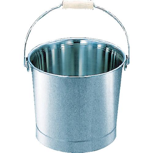 ■TRUSCO ステンレスバケツ 15L 315X260 TSH-641B トラスコ中山(株)[TR-4886364]