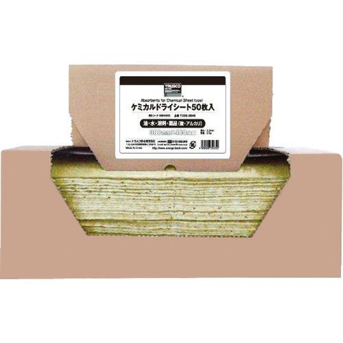 ■TRUSCO ケミカルドライシート 380×480 (50枚入) TCDS-3848 トラスコ中山(株)[TR-4886445]