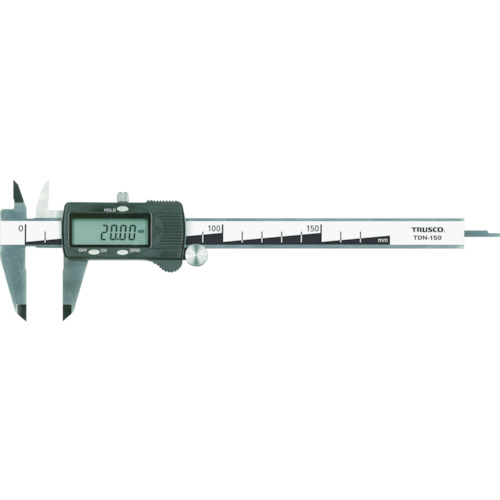 ■TRUSCO デジタルノギス 200mm TDN-200 トラスコ中山(株)[TR-4890761]