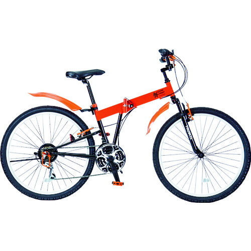 ■TRUSCO 災害時用ノーパンク自転車 ハザードランナー 26インチ THR5526 トラスコ中山(株)[TR-4892844] [個人宅配送不可]
