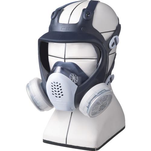 ■シゲマツ 直結式小型全面形防毒マスク GM185C-M (株)重松製作所[TR-4896157]