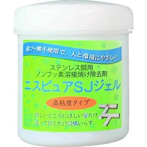 ■佐々木化学 ステンレス溶接焼け除去剤 エスピュアSJジェル(高粘度タイプ)300g SJJEL300G [TR-4903706]