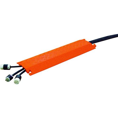 ■CHECKERS ファーストレーン ケーブルプロテクター 軽量型 電線2本  〔品番:FL2X1.75-O〕[TR-4915011]
