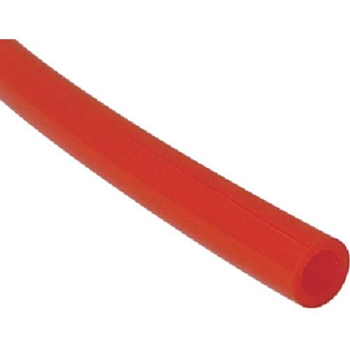 ■チヨダ TEタッチチューブ 10mm/100m 赤 TE-10-100 千代田通商(株)[TR-4917839]