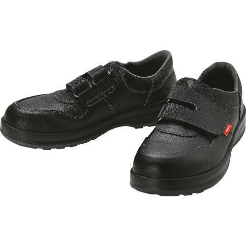■TRUSCO 安全靴 短靴マジック式 JIS規格品 23.5cm TRSS18A-235 トラスコ中山(株)[TR-4933125]