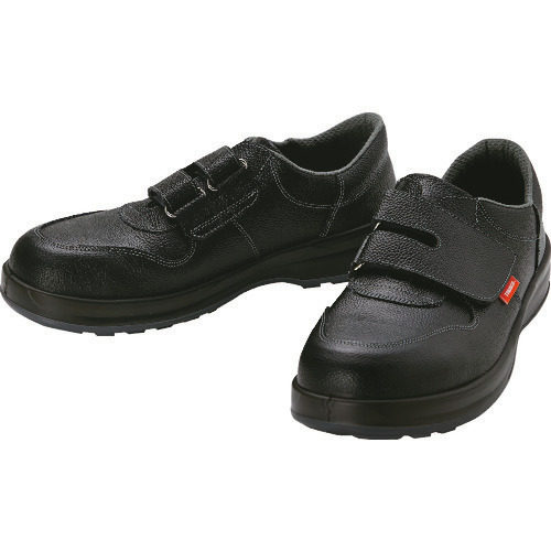 ■TRUSCO 安全靴 短靴マジック式 JIS規格品 27.5cm TRSS18A-275 トラスコ中山(株)[TR-4933206]