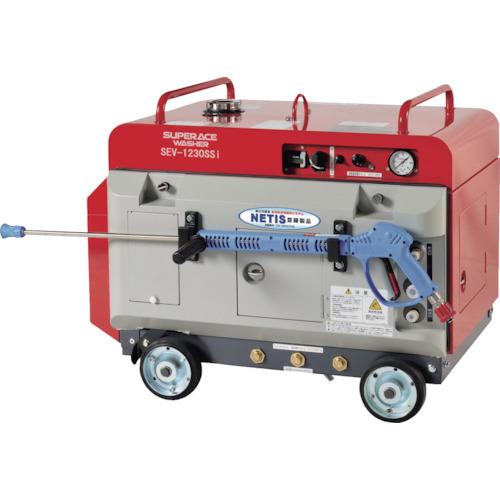 ■スーパー工業 エンジン式 高圧洗浄機 SEV-1230SSi(防音型) スーパー工業(株)[TR-4953959] [個人宅配送不可]