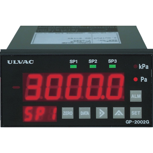 ■ULVAC ピラニ真空計(デジタル仕様) GP-2001G/WP-03  〔品番:GP2001G/WP03〕[TR-4961412]