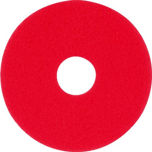 ■アマノ フロアパッド13 赤(5枚) HEC801500 アマノ(株)[TR-4961552×5]