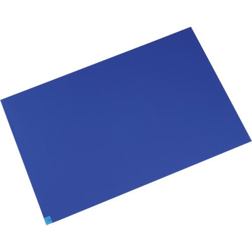 ■メドライン マイクロクリーンエコマット ブルー 600×1200mm(10枚入) M6012B [TR-4971167] [個人宅配送不可]