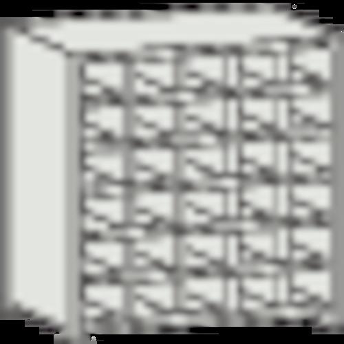 ■TRUSCO KB型区分棚コボレ止め付 889X264XH927 5列6段 KB-5063 トラスコ中山(株)[TR-5041350] [個人宅配送不可]