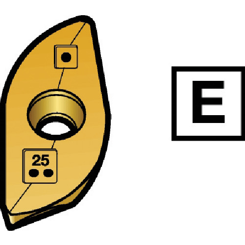 ■サンドビック コロミルR216ボールエンドミル用チップ S30T S30T 5個入 〔品番:R216-4007E-M〕[TR-5746710×5]