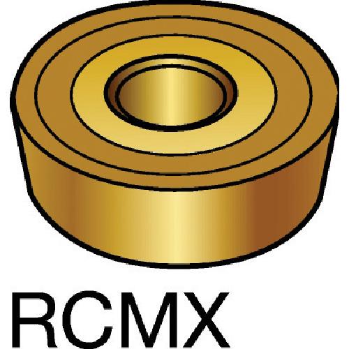 ■サンドビック T-MAX P 旋削用ポジ・チップ S05F S05F 10個入 〔品番:RCMX〕[TR-5778387×10]【個人宅配送不可】