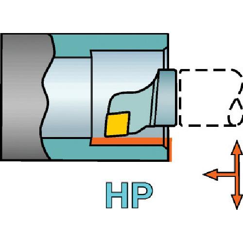 ■サンドビック コロターンSL T-MAX P用HPカッティングヘッド 0 〔品番:SL-PCLNR-25-09HP-G〕[TR-5784441]【個人宅配送不可】