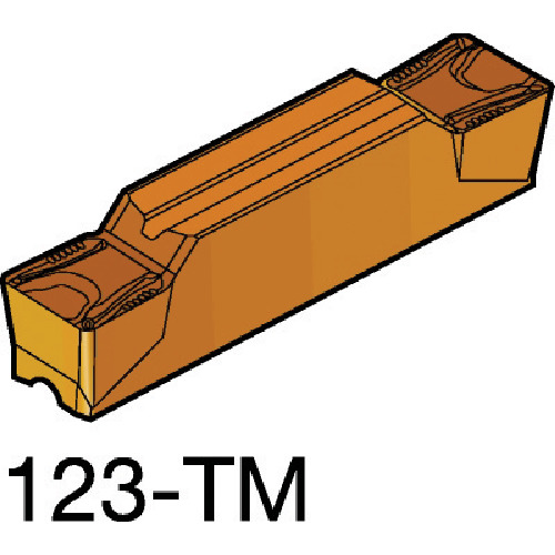 ■サンドビック コロカット2 突切り・溝入れチップ 3115(10個) N123L2-0800-0008-TM [TR-6037313×10]