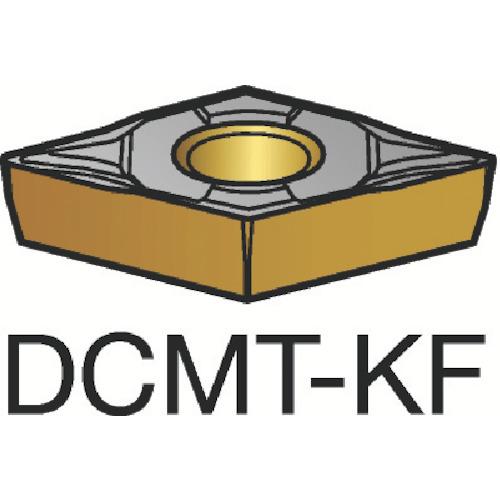 ■サンドビック コロターン107 旋削用ポジ・チップ H13A H13A 10個入 〔品番:DCMT〕[TR-6050794×10]