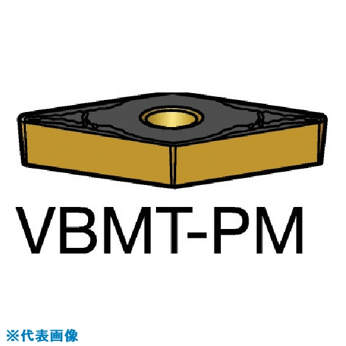 ■サンドビック コロターン107 旋削用ポジ・チップ 1525(10個) VBMT [TR-6058256×10]