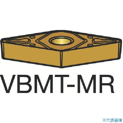 ■サンドビック コロターン107 旋削用ポジ・チップ 2025(10個) VBMT [TR-6066569×10]