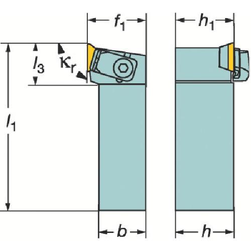 ■サンドビック T-MAX S ポジチップ用シャンクバイト  〔品番:CTGPL〕[TR-6068847]