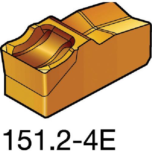 ■サンドビック T-MAX Q-カット 突切り・溝入れチップ 525 525 10個入 〔品番:N151.2-400-4E〕[TR-6075045×10]