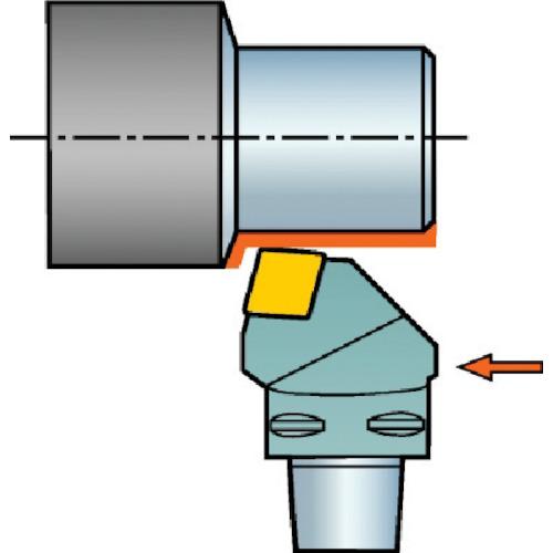 ■サンドビック コロマントキャプト T-MAX P用カッティングヘッド  〔品番:C5-PCRNL-27060-12〕[TR-6089674]