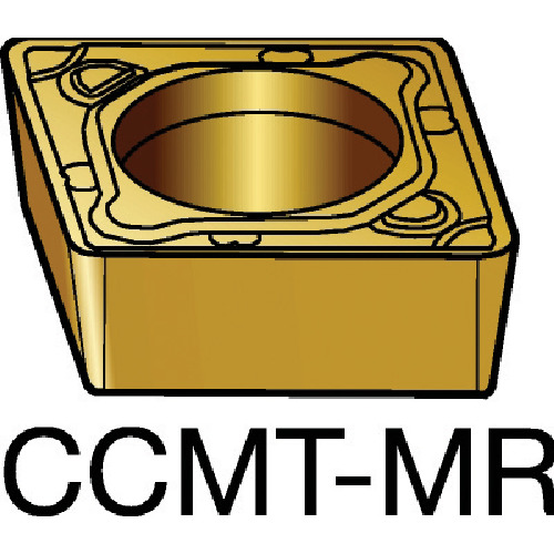 ■サンドビック コロターン107 旋削用ポジ・チップ 2035 2035 10個入 〔品番:CCMT〕[TR-6095399×10]