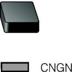 ■サンドビック T-MAX P 旋削用セラミックネガ・チップ 670 670 10個入 〔品番:CNGN〕[TR-6095518×10]