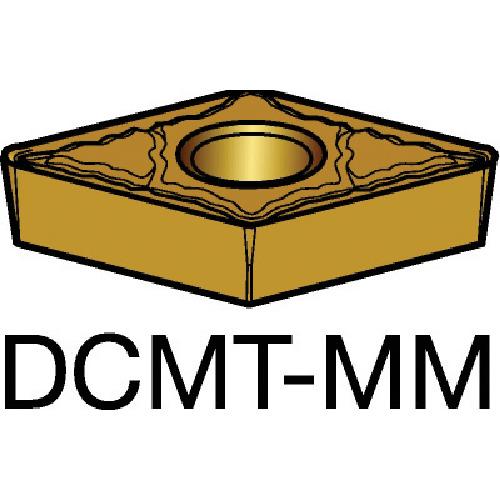 ■サンドビック コロターン107 旋削用ポジ・チップ 2035 2035 10個入 〔品番:DCMT〕[TR-6096476×10]