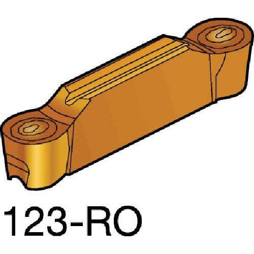 ■サンドビック コロカット2 突切り・溝入れチップ 1125 1125 10個入 〔品番:N123L2-0800-RO〕[TR-6098649×10]