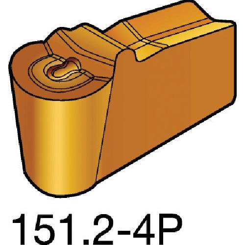 ■サンドビック T-MAX Q-カット 突切り・溝入れチップ 1125 1125 10個入 〔品番:N151.2-400-40-4P〕[TR-6098851×10]