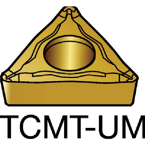 ■サンドビック コロターン107 旋削用ポジ・チップ 235 235 10個入 〔品番:TCMT〕[TR-6106749×10]