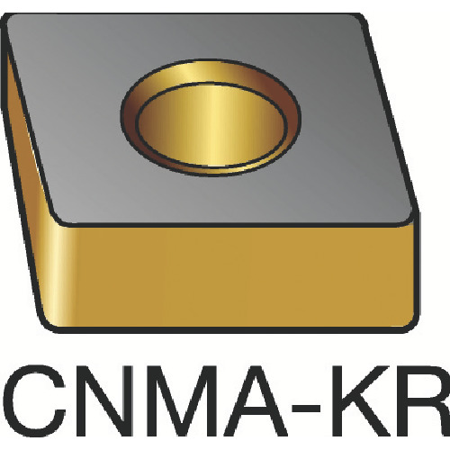 ■サンドビック T-Max P 旋削用ネガ・チップ 3205(10個) CNMA [TR-6182402×10]