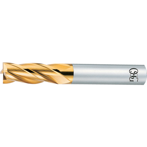 ■OSG ハイスエンドミル TIN 多刃ショート 22 88232 EX-TIN-EMS-22 オーエスジー(株)[TR-6314996]