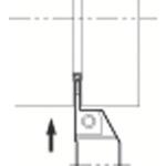 ■京セラ 溝入れ用ホルダ KGAR2525M-4 京セラ(株)[TR-6451641]