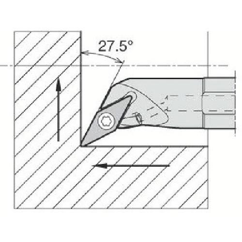 ■京セラ 内径加工用ホルダ A12M-SVPBR11-18AE 京セラ(株)[TR-6465013]