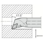 ■京セラ 内径加工用ホルダ A20R-SDQCR11-25AE 京セラ(株)[TR-6465161]