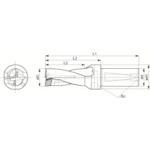 ■京セラ ドリル用ホルダ S20-DRZ1530-05 京セラ(株)[TR-6470459]