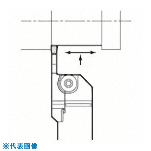 ■京セラ 溝入れ用ホルダ KGDL2525X-3T10S 京セラ(株)[TR-6486827]