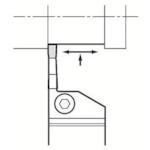 ■京セラ 溝入れ用ホルダ KGDR2525M-3T20 京セラ(株)[TR-6487165]