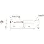 ■京セラ ドリル用ホルダ SS25-DRC230M-3 京セラ(株)[TR-6489737]