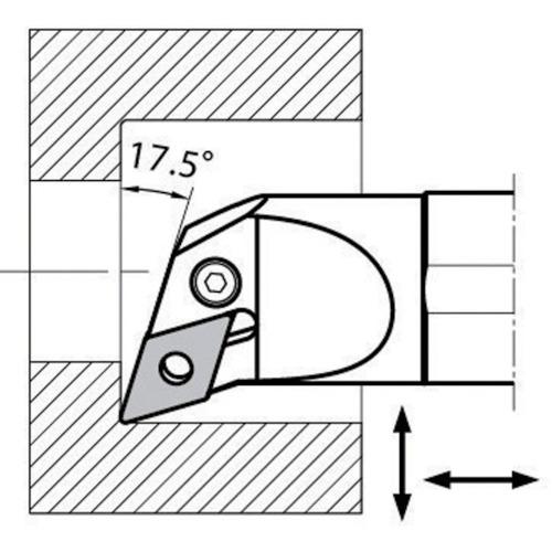 ■京セラ 内径加工用ホルダ S25R-PDUNR15-32 京セラ(株)[TR-6535259]