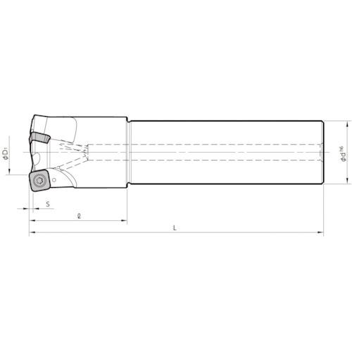 ■京セラ ミーリング用ホルダ MFH40-S32-10-4T-250 京セラ(株)[TR-6546625]