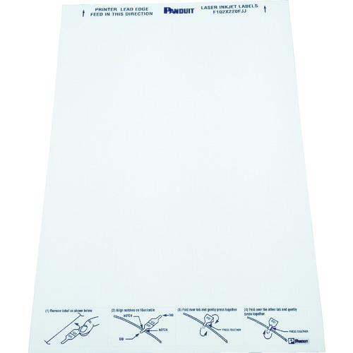 ■パンドウイット レーザープリンタ用 光ファイバー用旗型ラベル F102X220FJJ [TR-7310773]